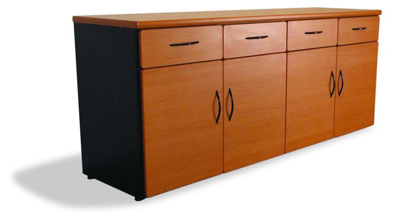 Credenza Con Puertas : Muebles de oficina credenza 4 puertas con cajones papeleros.jpg